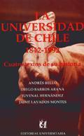 Cubierta para La Universidad de Chile 1842-1992: cuatro textos de su historia