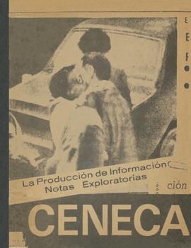 Cubierta para La producción de información de la prensa diaria bajo el regimen autoritario: notas exploratoria