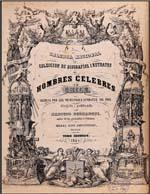 Cubierta para Galería nacional, o, Colección de biografías i retratos de hombres celebres de Chile: tomo segundo