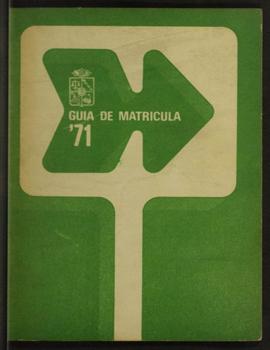 Cubierta para Guía Matrícula '71
