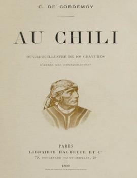 Cubierta para Au Chili: ouvrage illustré de 109 gravures