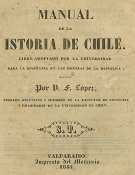 Cubierta para Manual de la istoria de Chile