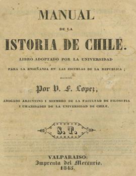 Cubierta para Manual de la istoria de Chile