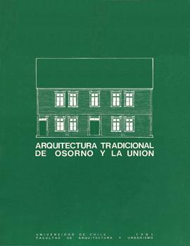 Cubierta para Arquitectura tradicional de Osorno y La Unión