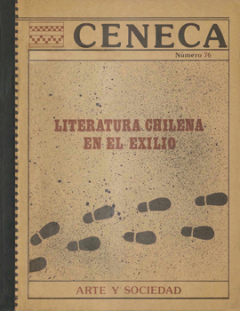Cubierta para Literatura chilena en el exilio