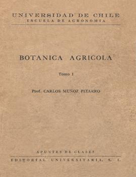 Cubierta para Botánica agrícola: tomo I