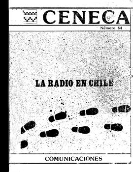 Cubierta para La radio en Chile: (historia, modelos, perspectivas)