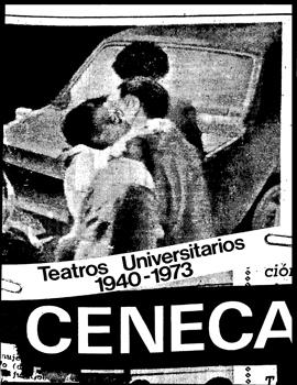 Cubierta para El estado en la escena: teatros universitarios de Santiago 1940-1973