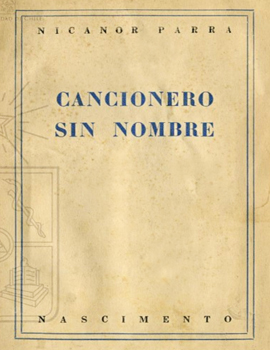 Cubierta para Cancionero sin nombre