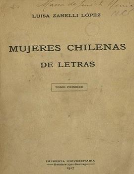 Cubierta para Mujeres chilenas de letras