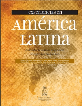 Cubierta para Experiencias en América Latina: el desafío de evaluar programas de seguridad ciudadana