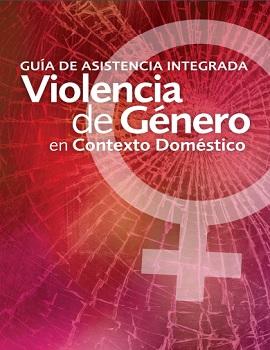 Cubierta para Guía de asistencia integrada en violencia de género en contexto doméstico