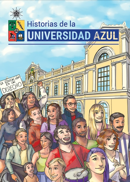 Cubierta para Historias de la Universidad Azul