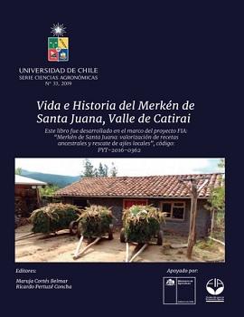 Cubierta para Vida e historia del merkén de Santa Juana, Valle de Catirai