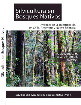 Cubierta para Silvicultura en bosques nativos: avances en la investigación en Chile, Argentina y Nueva Zelandia