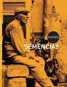 Cubierta para Policy Paper Demencias