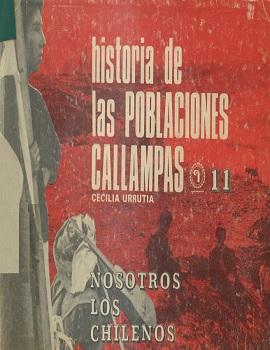 Cubierta para Historia de las poblaciones callampas