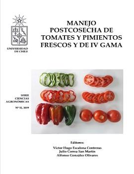 Cubierta para Manejo postcosecha de tomates y pimientos fresco y de IV gama