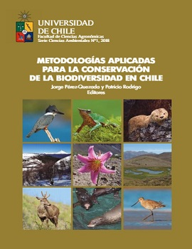 Cubierta para Metodologías aplicadas para la conservación de la biodiversidad en Chile