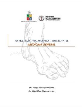 Cubierta para Patología traumática tobillo y pie - Medicina general