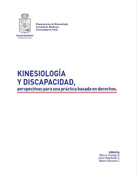Cubierta para Kinesiología y discapacidad, perspectivas para una práctica basada en derechos