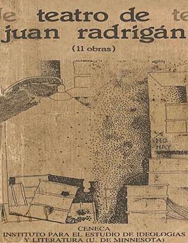 Cubierta para Teatro de Juan Radrigán: (11 obras)