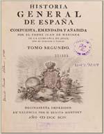 Cubierta para Historia general de España: tomo segundo