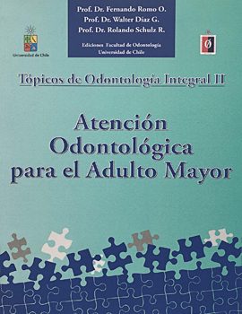 Cubierta para Tópicos de odontología integral II: atención odontológica para el adulto mayor
