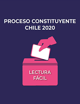Cubierta para Proceso Constituyente Chile 2020: lectura fácil