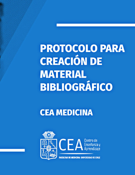 Cubierta para Protocolo para creación de material bibliográfico CEA Medicina 2020