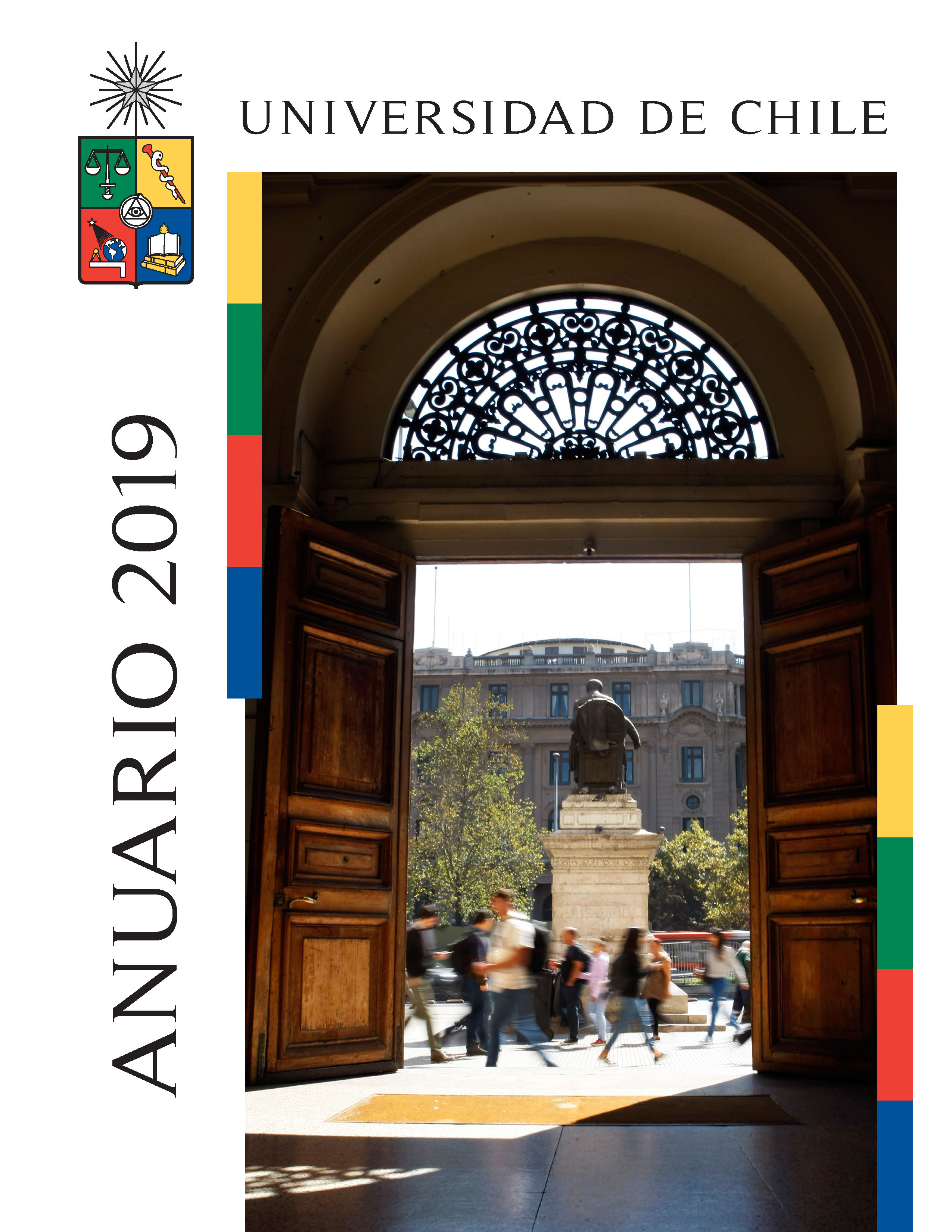 Cubierta para Anuario 2019: Universidad de Chile