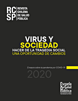 Cubierta para Virus y sociedad: hacer de la tragedia social, una oportunidad de cambios