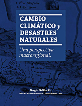 Cubierta para Cambio climático y desastres naturales: una perspectiva macroregional