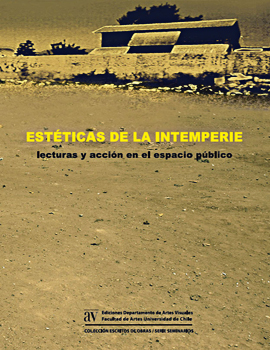 Cubierta para Estética de la intemperie: lecturas y acción en el espacio público