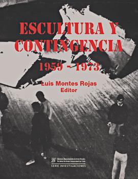 Cubierta para Escultura y contingencia 1959-1973