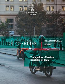 Cubierta para Policy Brief : Trabajadores móviles digitales en Chile