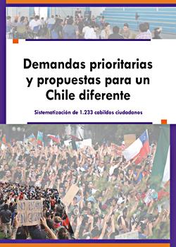 Cubierta para Demandas prioritarias y propuestas para un Chile diferente: sistematización de 1.233 cabildos ciudadanos