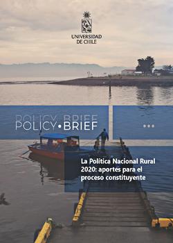 Cubierta para Policy Brief: La Política Nacional Rural 2020: aportes para el proceso constituyente
