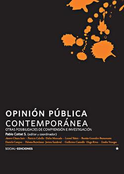 Cubierta para Opinión pública contemporánea: otras posibilidades de comprensión e investigación