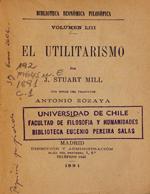 Cubierta para El utilitarismo