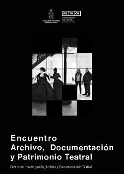 Cubierta para Encuentro Archivo, Documentación y Patrimonio Teatral