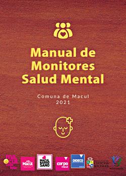 Cubierta para Manual de monitores salud mental: comuna de Macul 2021