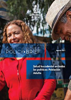 Cubierta para Policy Brief: Salud bucodental en todas las políticas: población adulta