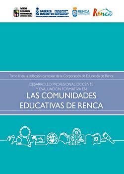 Cubierta para Desarrollo profesional docente y evaluación formativa en las comunidades educativas de Renca