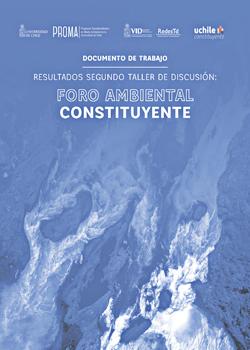 """Cubierta para Resultados segundo taller de discusión """"Foro Ambiental Constituyente"""""""