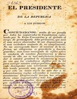 Cubierta para Constitución (1833)