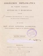 Cubierta para Colección diplomática de varios papeles antiguos y  modernos sobre dispensas matrimoniales y otros puntos de disciplina eclesiástica
