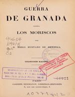 Cubierta para Guerra de Granada contra los moriscos