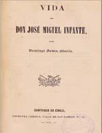 Cubierta para Vida de don José Miguel Infante