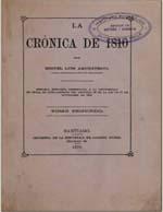 Cubierta para La crónica de 1810: tomo segundo